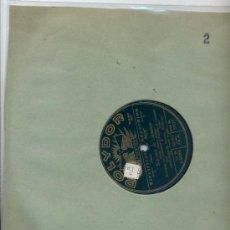 Discos de pizarra: LANDLERKAPELLE GEISSEER / SOUVENIR DE LAUSANNE / DIE BEIDEN NACHTSCHWARMER (POLYDOR). Lote 24662528