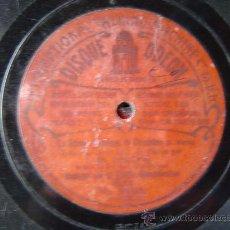Discos de pizarra: DISCO GRAMOFONO - LA GRANDE DUCHEESE DE GEROLSTEIN - MR. JOSEPH - MUSIQUE DE LA GARDE REPUBLICAINE. Lote 26312747