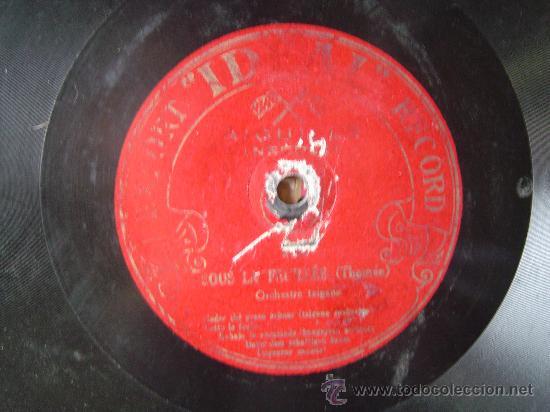 DISCO GRAMOFONO - PRINCESSE DOLLAR (FALL) - ORQUESTRE TZIGANE - BULGARIAN ORCHESTRA (Música - Discos - Pizarra - Otros estilos)