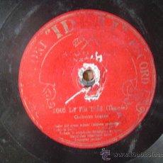 Discos de pizarra: DISCO GRAMOFONO - PRINCESSE DOLLAR (FALL) - ORQUESTRE TZIGANE - BULGARIAN ORCHESTRA. Lote 26312749