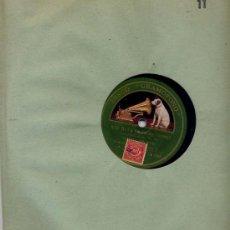 Discos de pizarra: ORQUESTA JACK HYLTON / RIO RITA / THE KINKAJOU (GRAMOFONO). Lote 27080960
