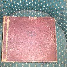 Discos de pizarra: ANTIGUO ALBUM CON 12 DISCOS PIZARRA GRABADO CON LAS MEJORES ORQUESTAS DE ALEMANIA- AÑO 1920-30-. Lote 25677990
