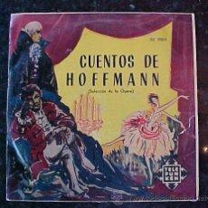 Discos de pizarra: ANTIGUO DISCO CUENTOS DE HOFFMANN TELEFUNKEN. Lote 26764886