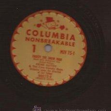 Discos de pizarra: 78 RPM-GENE AUTRY-COLUMBIA 75-USA-DISCO DE NAVIDAD-CHRISTMAS-PIZARRA. Lote 26868758