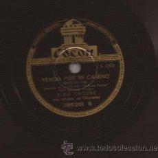 Discos de pizarra: 78 RPM-BING CROSBY-ODEON 286261-ARGENTINA-DISCO DE PIZARRA. Lote 26868873