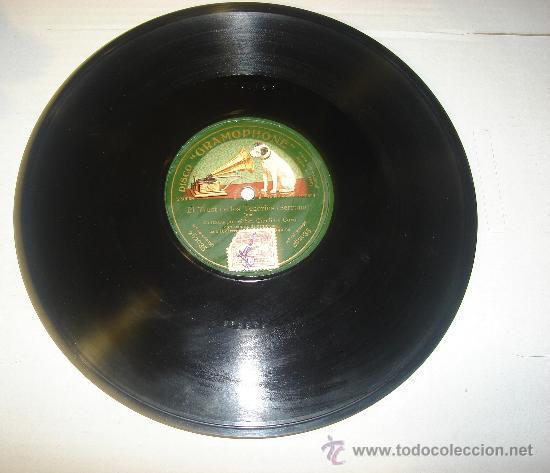DISCO DE GRAMOFONO. LA VOZ DE SU AMO - THE TRUST DE LOS TENORIOS (Música - Discos - Pizarra - Otros estilos)