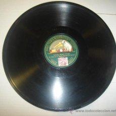 Discos de pizarra: DISCO DE GRAMOFONO. LA VOZ DE SU AMO - SERENATA MORISCA. Lote 27531878