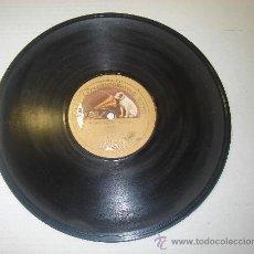 Discos de pizarra: DISCO DE GRAMOFONO. LA VOZ DE SU AMO - WASHINGTON GRAYS. Lote 27532599