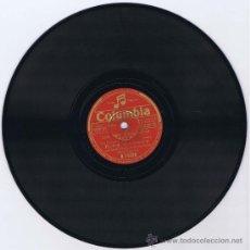 Discos de pizarra: BING CROSBY CON XAVIER CUGAT Y LA ORQUESTA DEL WALDORF ASTORIA. LOS TRES CABALLEROS. SAN SEBASTIAN: . Lote 27892601