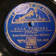 Discos de pizarra: ANTIGUO DISCO DE PIZARRA PARA GRAMOFONO GRAMOLA,. Lote 27992000