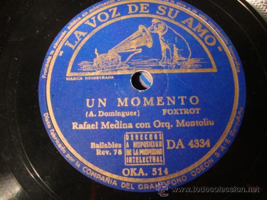 Discos de pizarra: ANTIGUO DISCO DE PIZARRA PARA GRAMOFONO GRAMOLA, - Foto 2 - 27992000