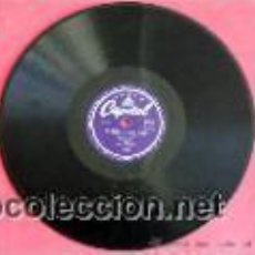 Discos de pizarra: SY OLIVER AND HIS ORCHESTRA VOCALIST TRUDY RICHARDS ( ANY TIME - BLACKSMITH BLUES ) ENGLAND DECCA. Lote 28137823
