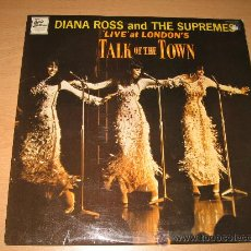 Discos de pizarra: DIANA ROSS & SUPREMES - LIVE AT TALK OF THE TOWN - STML11070 - TAMLA MOTOWN 1968 UK. Lote 28819564