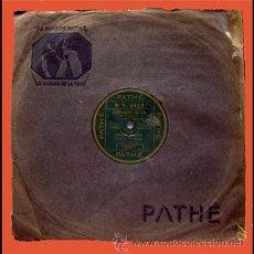 Discos de pizarra: ANDRE BRUGE . PIZARRA 25 MM. LA ROUTE ES BELLE . 1930. Lote 29099121