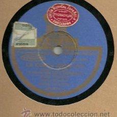 Discos de pizarra: JESUS PEROSANZ PIZARRA 78 RPM. DEL SELLO ODEON, LA COPLA ANDALUZA Y FANDANGUILLOS.. Lote 29181616