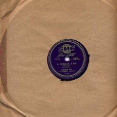 Disques en gomme-laque: EDUARDO ROY / A MEDIA LUZ / YIRA, YIRA. Lote 29322030