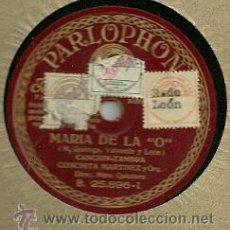 Discos de pizarra: CONCHITA MARTINEZ DISCO PIZARRA 78 RPM. DEL SELLO PARLOPHON. Lote 29744887