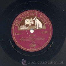 Discos de pizarra: BOSTON PROMENADE ORCHESTRA - LARGO / MEDITATION (HIS MASTERS VOCIE). Lote 29808962
