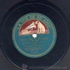 Discos de pizarra: ORQUESTA MAREK WEBER / FANTASIAS DE OPERAS (LA VOZ DE SU AMO). Lote 29809350