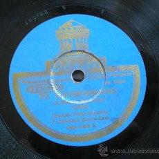 Discos de pizarra: ORQUESTA CANARO: LA CUMPARSITA / EL ENTRERRIANO. Lote 29817028
