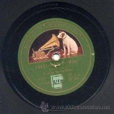 Discos de pizarra: ORQUESTA MAREK WEBER / FAUST (SELECCION 1º Y 2ª PARTE) DISCO GRAMOFONO. Lote 29825179