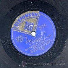 Discos de pizarra: WALTER LUTZE / HANS HEILING (TELEFUNKEN). Lote 29825207