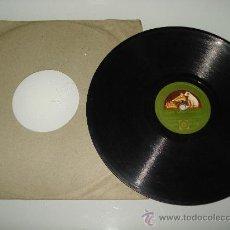Discos de pizarra: DISCO PIZARRA ** MARIA LA O ** POR ALFREDO BRITO Y SU ORQUESTA SIBONEY 1920.. Lote 30175120