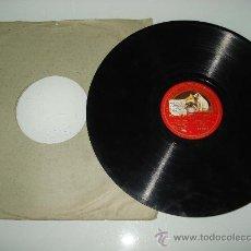 Discos de pizarra: DISCO PIZARRA ** LUISA FERNANDA** DUO DE LA ROSA .LAURA NIETO Y TINO FOLGAR . 1920.. Lote 30175163