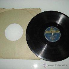 Discos de pizarra: DISCO PIZARRA ** LABIOS DE MUJER** POR LUIS DUQUE Y SU ORQUESTA CON RAUL ABRIL . 1920.. Lote 30175195
