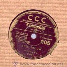 Discos de pizarra: DISCO DE PIZARRA CCC, FRANCÉS, LECCIÓN CINCO Nº 205. Lote 30625568