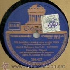 Discos de pizarra: CONCHITA PIQUER DISCO DE PIZARRA 78 RPM. DEL SELLO ODEON. Lote 30623377