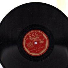 Discos de pizarra: DISCO DE PIZARRA CCC, FRANCÉS, Nº 219. Lote 30624960