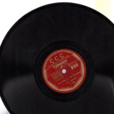 Discos de pizarra: DISCO DE PIZARRA CCC, FRANCÉS, Nº 220. Lote 30624965