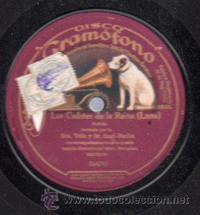 DISCO DE PIZARRA LA VOZ DE SU AMO, MARINA, 064084 (Música - Discos - Pizarra - Flamenco, Canción española y Cuplé)