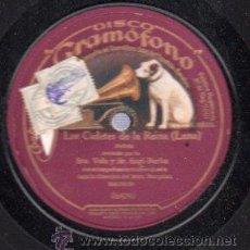 Discos de pizarra: DISCO DE PIZARRA LA VOZ DE SU AMO, MARINA, 064084. Lote 30627028