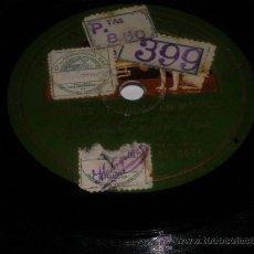Discos de pizarra: 78 RPM CORRIDA DE TOROS MADRID RECITADO CÓMICO PIZARRA. Lote 30657433
