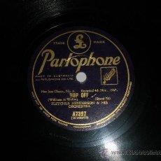 Discos de pizarra: 78 RPM FLETCHER HENDERSON HOP OFF HOT JAZZ CLASIC Nº4. Lote 30706283