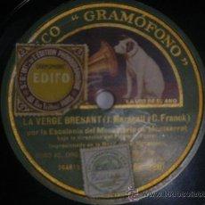 Discos de pizarra: 78 RPM MORENETA EN SOU ESCOLANIA SPAIN PIZARRA CORO. Lote 30709659
