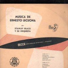 Discos de pizarra: DISCO DE PIZARRA, STANLEY BLACK Y SU ORQUESTA, MÚSICA DE ERNESTO LECUONA. Lote 30768854