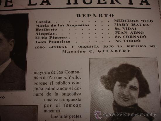 Discos de pizarra: F. CHUECA LA ALEGRIA DE LA HUERTA - Foto 3 - 30855766