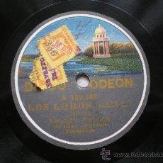 Discos de pizarra: RAQUEL MELLER: INDOSTAN / LOS LOBOS. Lote 30995590