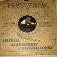 Discos de pizarra: ESTRELLITA CASTRO - MI PRETENDIENTE - MI JACA . Lote 31037833