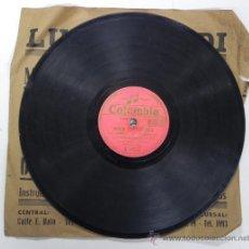 Discos de pizarra: ESTRELLITA CASTRO, NIÑA CARACOLA Y LOS MARISMEÑOS, DISCO PIZARRA 78 RPM. DEL SELLO COLUMBIA, . Lote 31067679