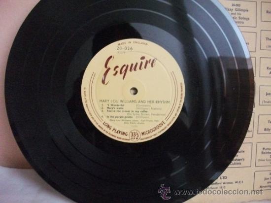 Discos de pizarra: Mary Lou Williams and her Rhythm - Disco de Pasta 33 1/3 Rpm - Piano Panorama – Esquire - Foto 6 - 31130453