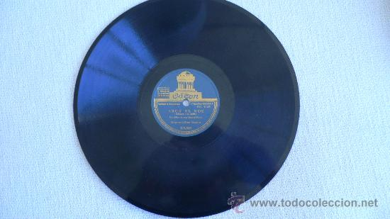 ORQUESTA GRAN CASINO JAZZ ESPAÑOL PIZARRA 78 RPM (Música - Discos - Pizarra - Jazz, Blues, R&B, Soul y Gospel)