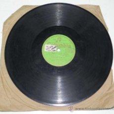 Discos de pizarra: ANTIGUO DISCO DE PIZARRA DE MANUEL DE PAMPLONA, ACOMP. POR LA ORQUESTA COLUMBIA - CALLE, ¡ AY QUE NO. Lote 31454367
