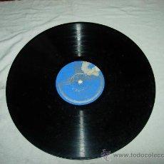 Discos de pizarra: BULERIAS YO QUISIERA HABLAR CON DIOS VALLEJO ACOMP. GUITARRAS MIGUEL BORRUL. Lote 31580523