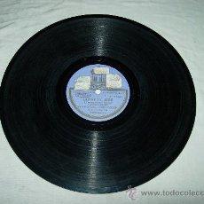 Discos de pizarra: GUERRITA EL CANTAOR (J. DOTRAS VILA Y H. MONTES) PASODOBLE FLAMENCO CON FANDANGUILLO GUERRITA CON BA. Lote 31580824