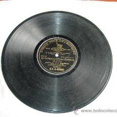 Discos de pizarra: EL GUITARRICO ( PEREZ SORIANO) JOTA DE PERICO CANTADO POR EL SR. SAGI-BARBA CON ACOMP DE ORQUESTA DI. Lote 31592886