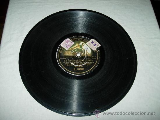 LA VIUDA ALEGRE ( LEHAR) DUO DEL II ACTO CANTADO POR EL SR SAGI- BARBA Y SRTA CON ACOMP. DE ORQUESTA (Música - Discos - Pizarra - Clásica, Ópera, Zarzuela y Marchas)